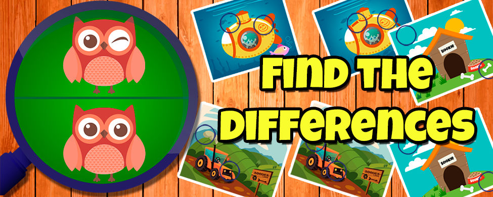 Find the differences Banner