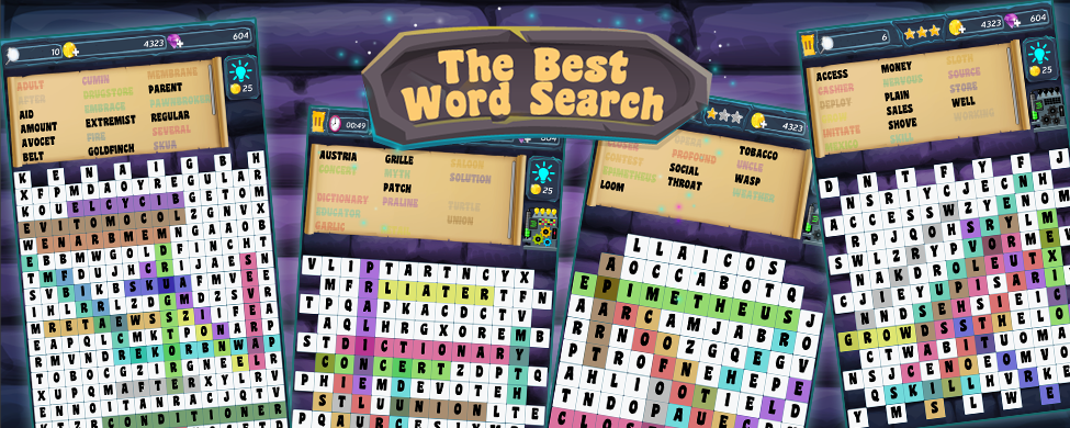 Best Word Search Banner